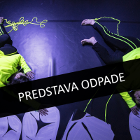 PREDSTAVA ČIGUMITVIST V SOBOTO, 14. 3., ODPADE